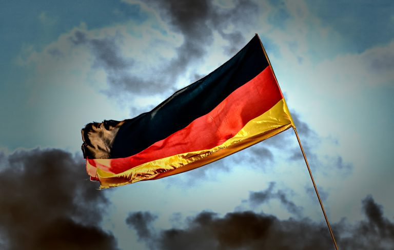 German flag.